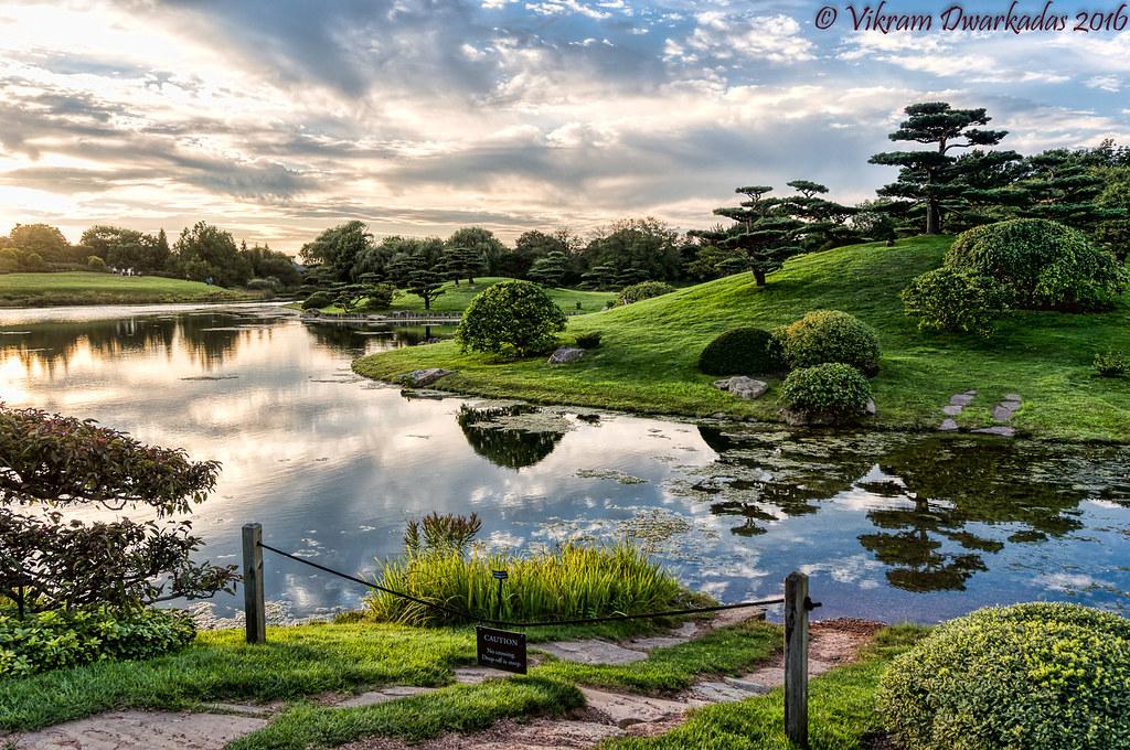 Japanese Garden, Chicago Botanical Gardens | The Japanese Ga… | Flickr