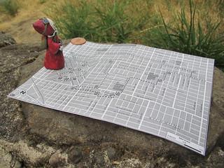 Portland City Walks No. 8 -  Map