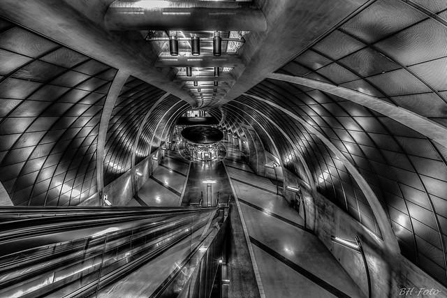 U-Bahnstation Heumarkt in Köln/Subwaystation Heumarkt in Cologne, Germany