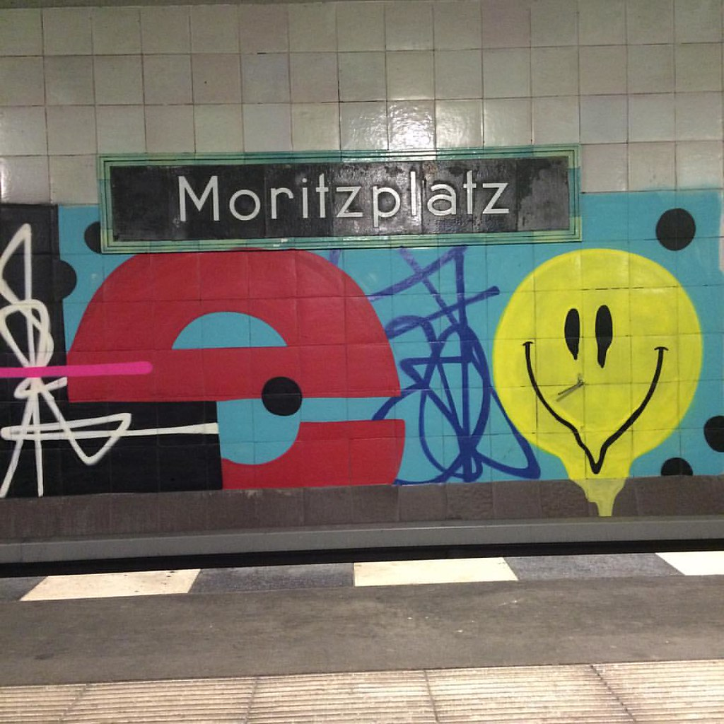 Guten Morgen Moritzplatz Berlin Underground Streeta