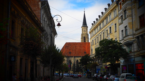 Cluj - University Street | by stefanjurca