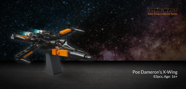 Poe Dameron's X-Wing (Table Scrap)