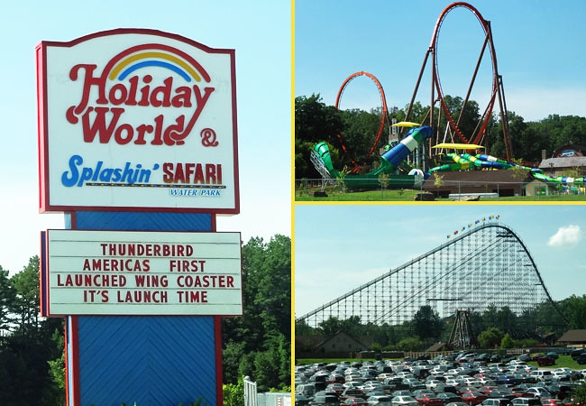 holiday world cool places in indiana to visit