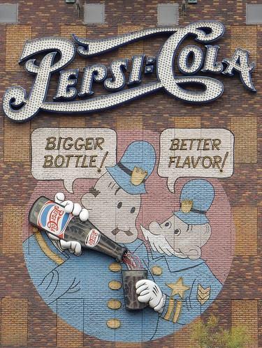Las Vegas - New York - New York Pepsi gevel