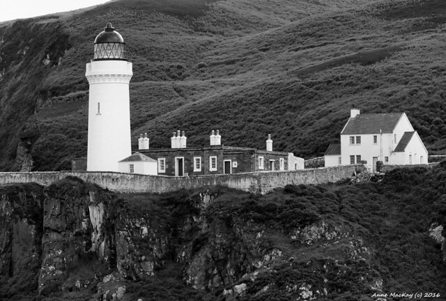 Scotland West Highlands Campbeltown lighthouse 3 July 2016 by Anne MacKay