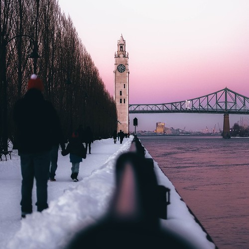 winter montreal river sunset sunrise travel amazing