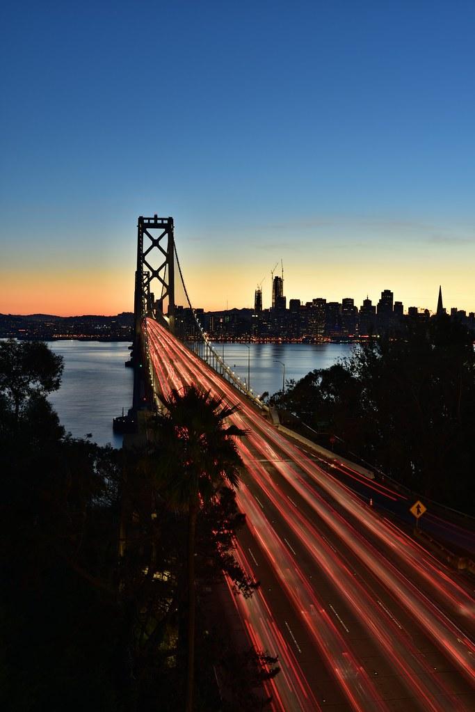 Bay Bridge Timelapse