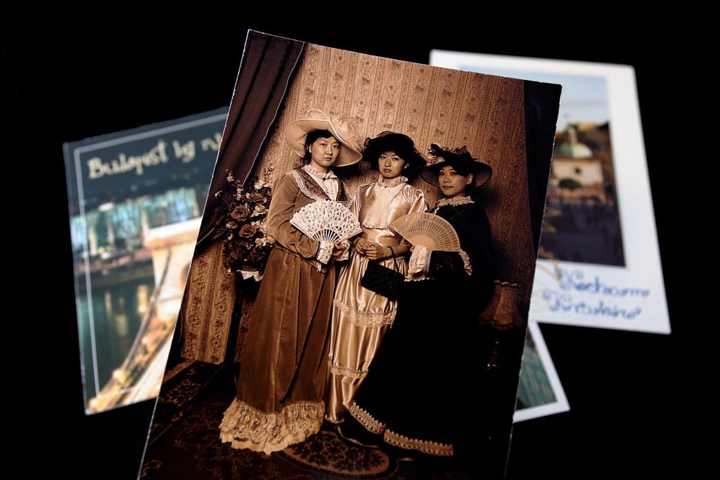 來自 Verna 與 Fiona 的明信片
