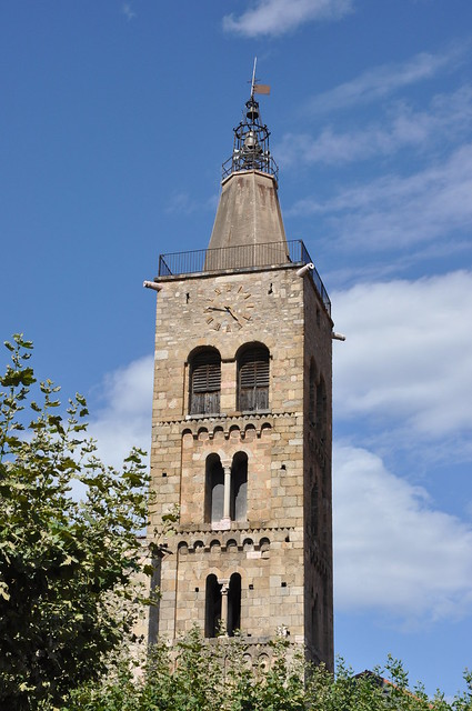 Prada. Parish Church. Bell tower. 12th C.