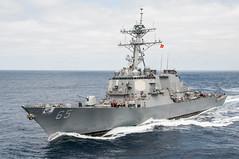 USS Benfold (DDG 65) file photo. (U.S. Navy/MC3 Nathan Burke)