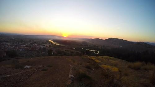 sunset españa sunrise timelapse puestadesol medellín extremadura gopro