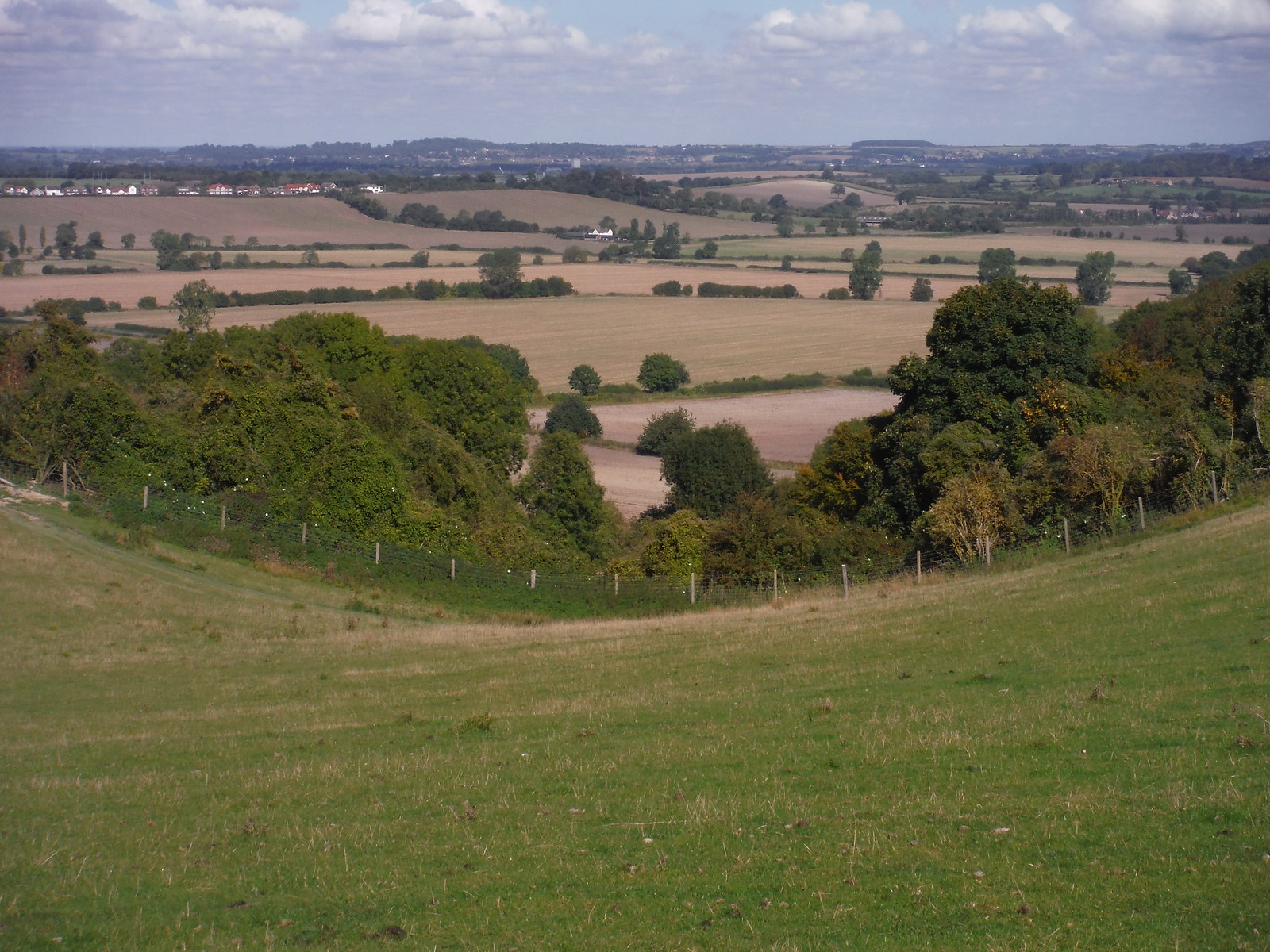 View from Sundon Hills SWC Walk 230 Harlington to Flitwick