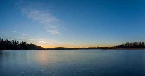 luonto landscape minimal auringonlasku jää talvi hdr fisheye outdoor 15mm lippajärvi järvi texture aurinko ice lake minimalistic nature prime simplified sun sundown sunset winter espoo