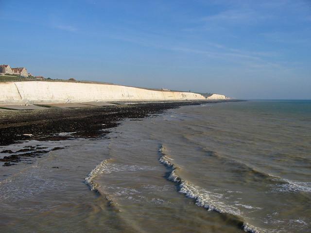 The coast at Roedean near Brighton