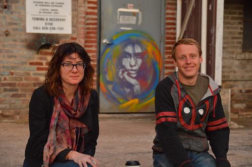 art asheville nc northcarolina sunset brookerettig mural graffiti shsb glasses rad riverartsdistrict