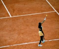 Venus Williams, eget foto fra 2000