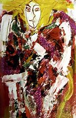 Cover Girl, Acrylic on Canvas