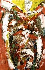 La Viuda, Acrylic on Canvas