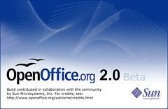 Open Office Two, Zero beta