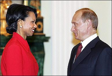 Rice vs Putin