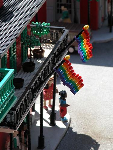 Legoland has a gay bar in it!   by sfPhotocraft