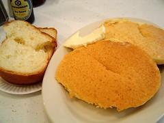 challah and pancakes