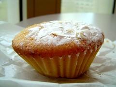 semi-smashy pumpkin cupcake