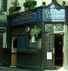 The Ship Tavern, Holborn