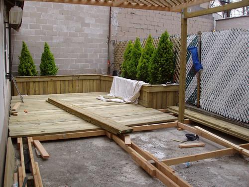 Deck - Halfway done