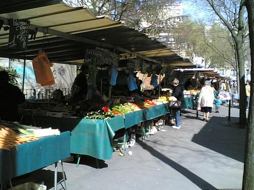 Marché Alésia : fruits et légumes