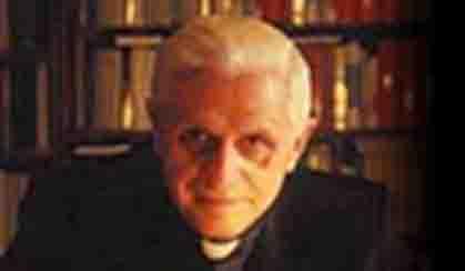 Cardenal Ratzinger, alias Benedicto XVI