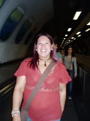 An American on the tube