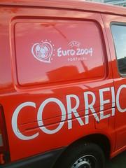 Carro Correios. Euro