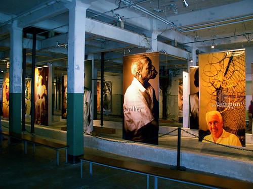 Prisoners of Age exhibit at Alcatraz.