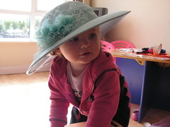 Madam with Hat