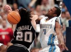 Spurs 126, Nuggets 115