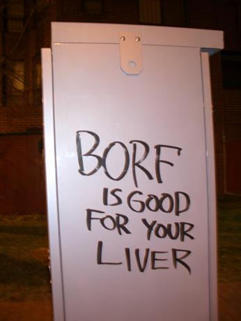 Mmm...borf
