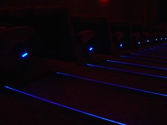 Cinema Steps in the dark