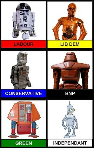 political robots