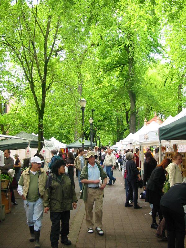 Portland Farmer's Market May 4 2005