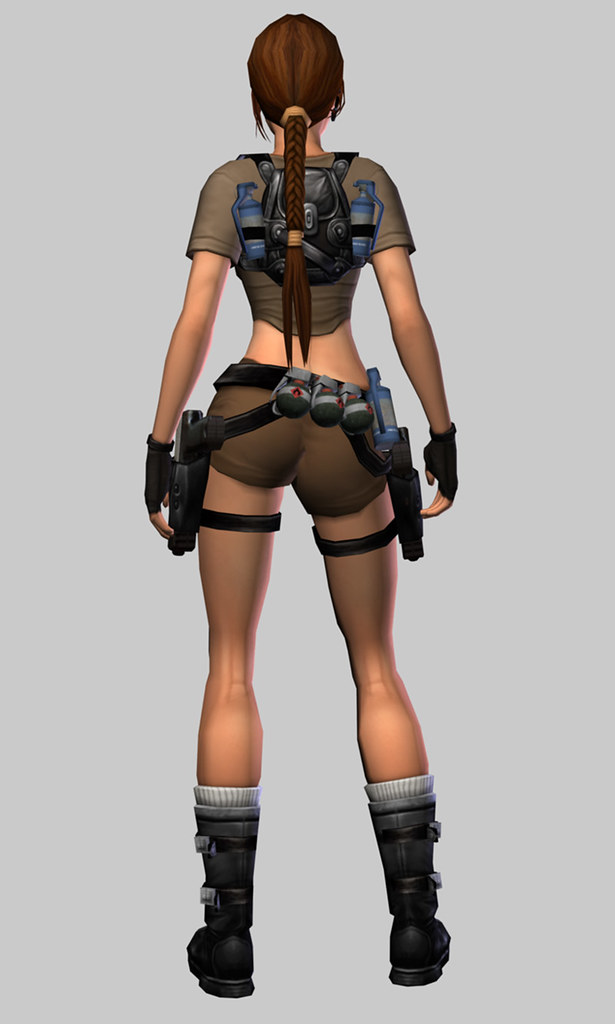 Lara Craft S Outfit In Tomb Raider Legend Back Hope The Flickr