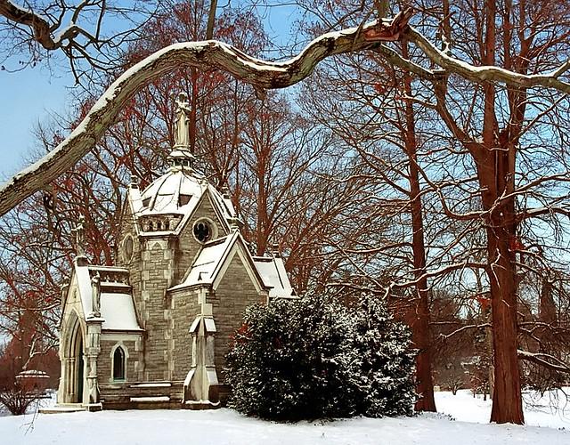 """Cincinnati – Spring Grove Cemetery & Arboretum """"Robinson Mausoleum"""