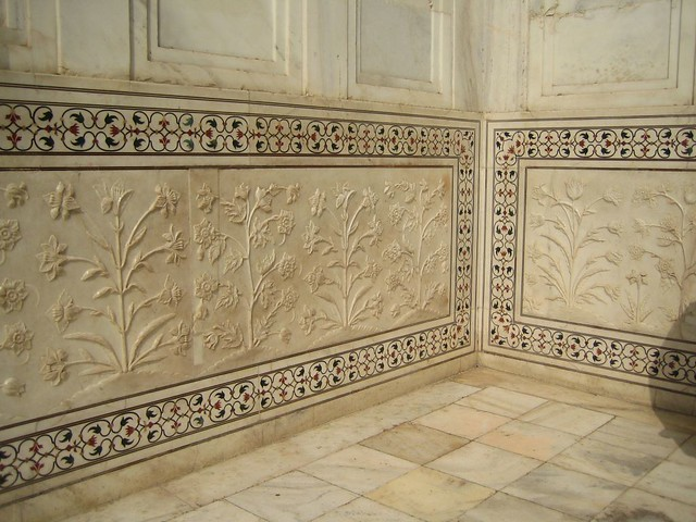 Image result for TAJ MAHAL INLAY WORK FLOOR