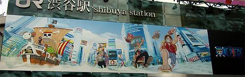 Shibuya-ONE PIECE02