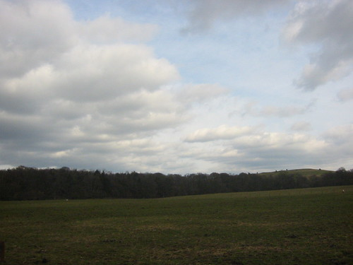 Sky, facing east