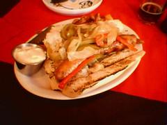 Andouille Sausage Sandwich