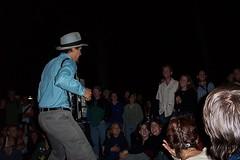 Jason Webley, Bumbershoot 2001, Seattle, WA