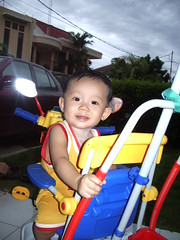 Nathan's first bike