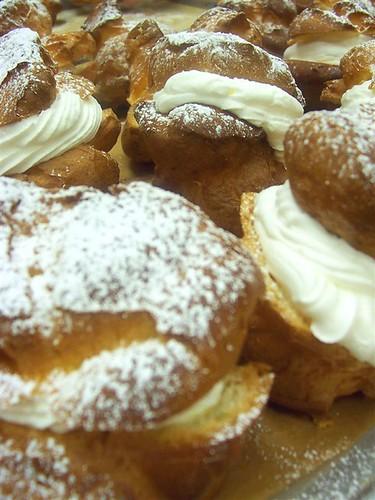 cream puffs..