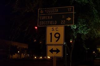 Aiken Directional Sign